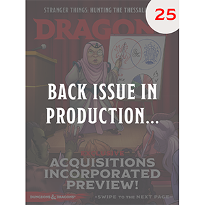 Dragon+ Issue 25
