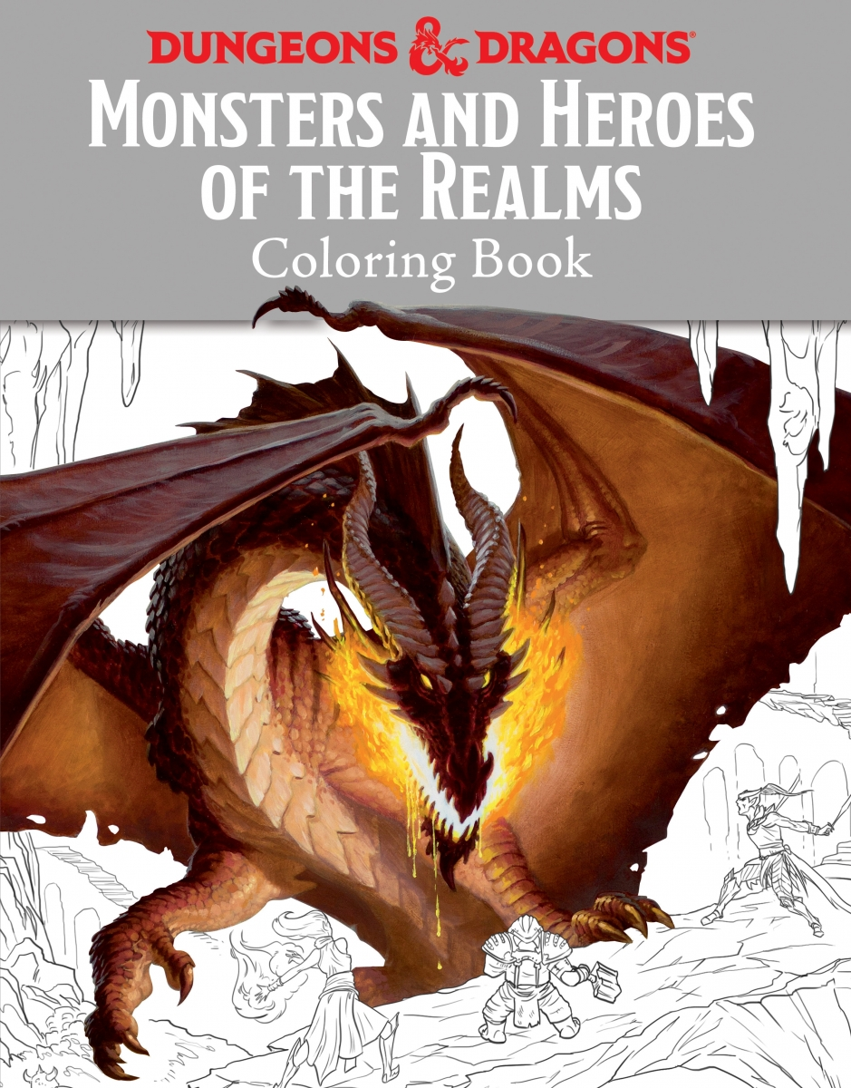 Dungeonology And D D Coloring Book Dungeons Dragons