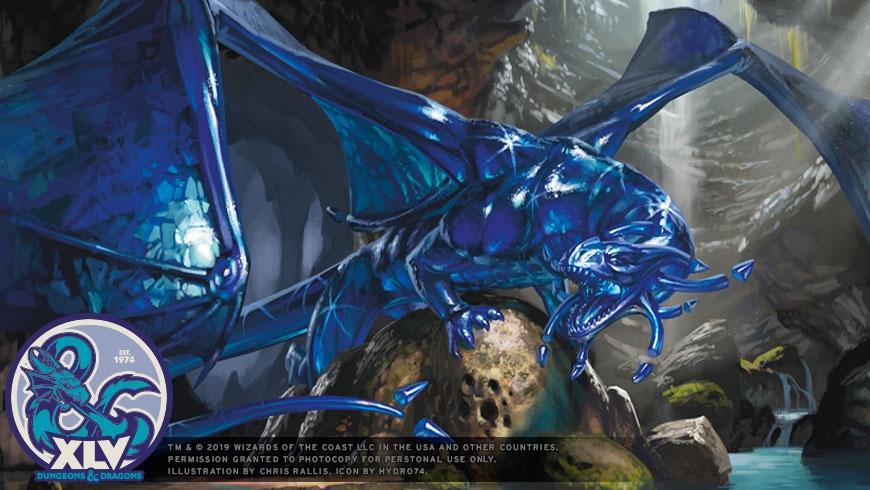 D&D Sapphire Anniversary Dragon Wallpaper