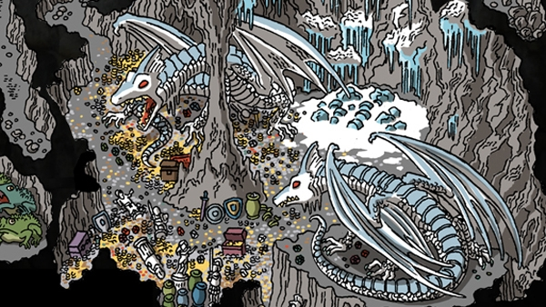 Cartoon -- Glacial Rift of the Frost Giant Jarl