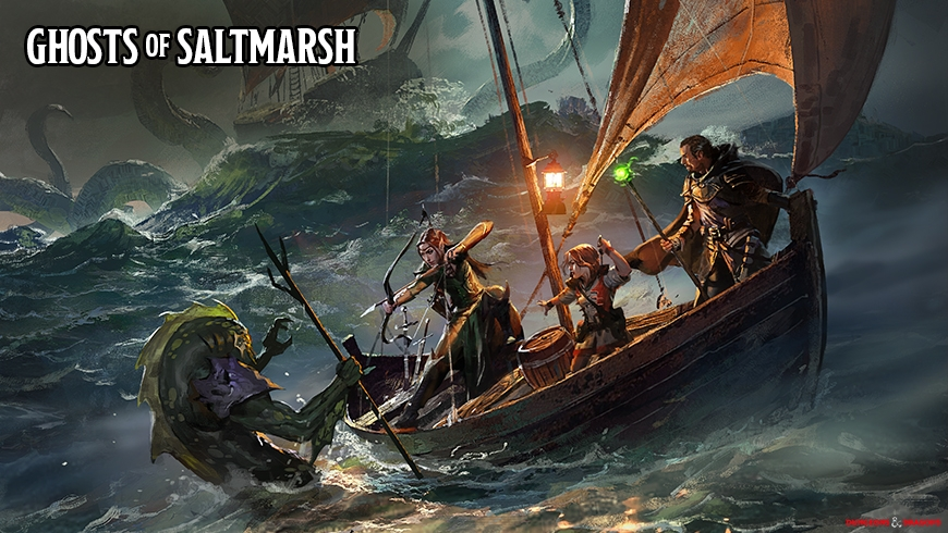 Ghosts of Saltmarsh Wallpaper