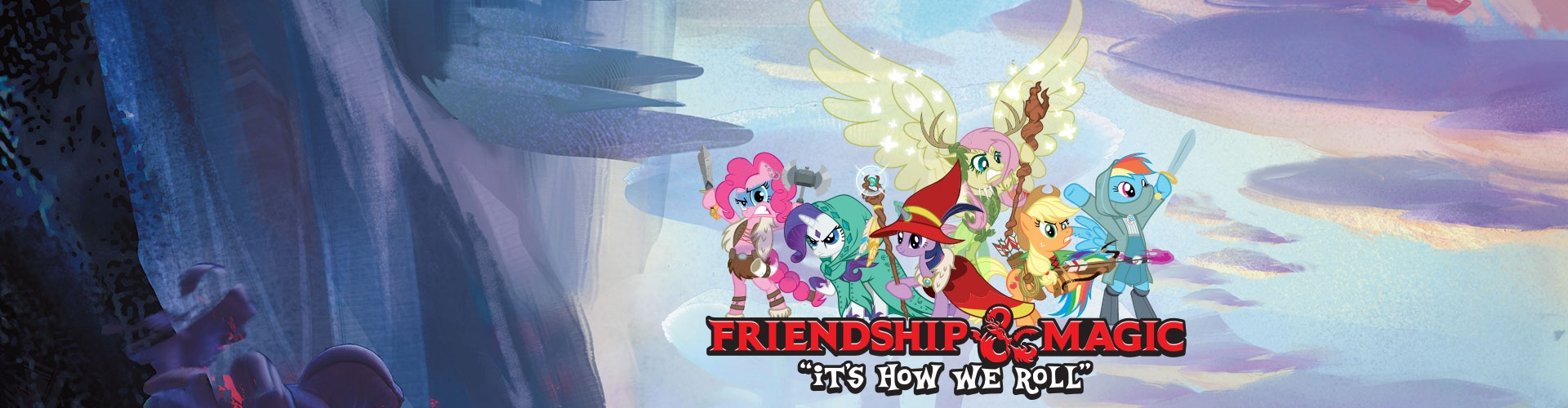 Dungeons & Dragons teams up with My Little Pony
