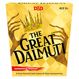 The Great Dalmuti: Dungeons and Dragons RPG -  Wizards of the Coast