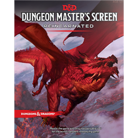 DnD Dungeon Masters Screen Reincarnated -  Wizards of the Coast
