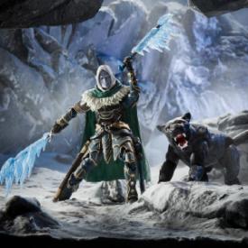 D&D Forgotten Realms Drizzt & Guenhwyvar