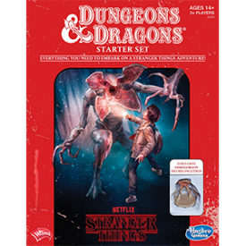 Stranger Things D&D Roleplaying Game Starter Set