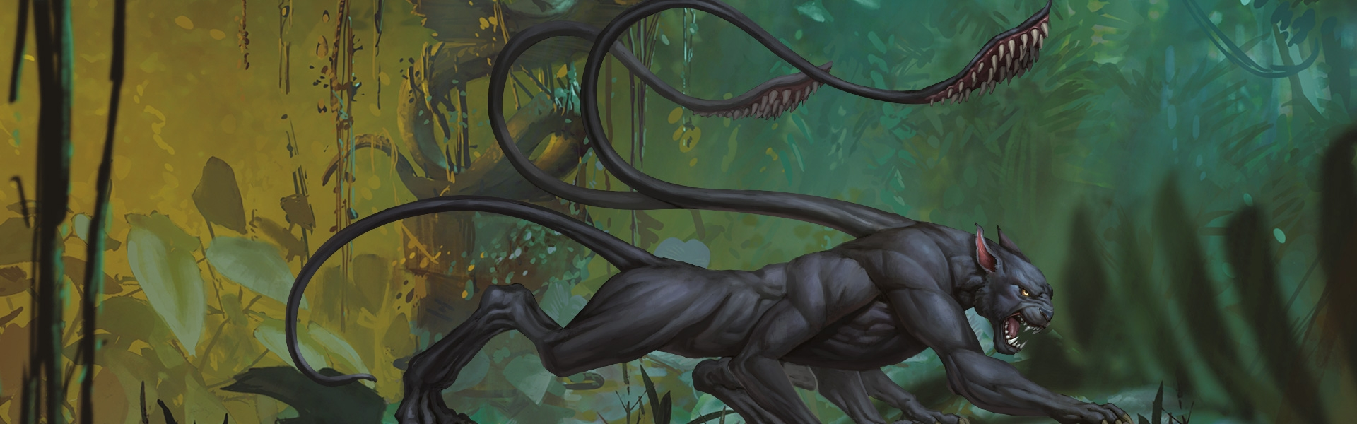 Monsters -- Displacer Beast
