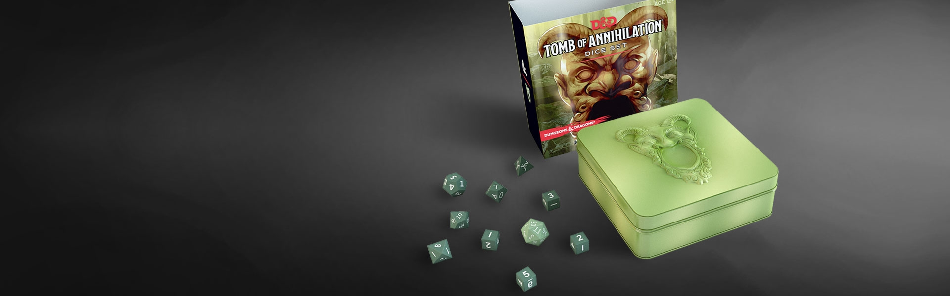 D D Tomb Of Annihilation Dice Dungeons Dragons