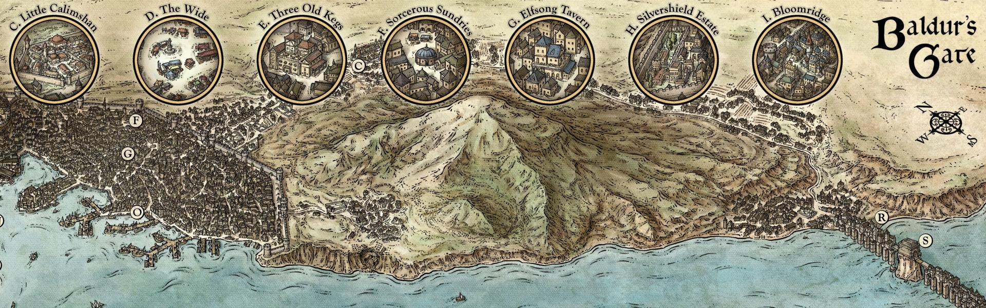 Murder in Baldur's Gate